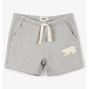 Little Blue House by Hatley Kids Heritage Shorts | Grey | Size 4